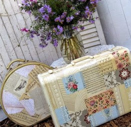 Lavender & patchwork french provincial style | Lavender & Twill