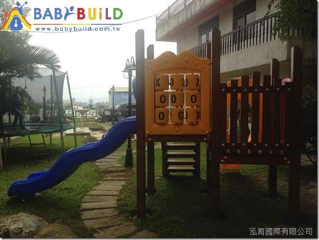 木製兒童遊具完工照