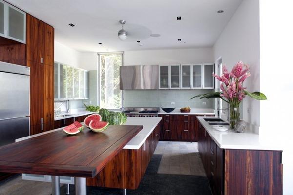 cocina-con-isla-muebles-madera