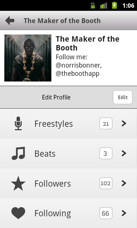 The Booth Rap Studio Pro- screenshot