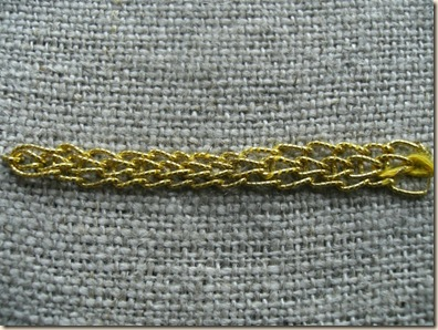 braided chain horizontal
