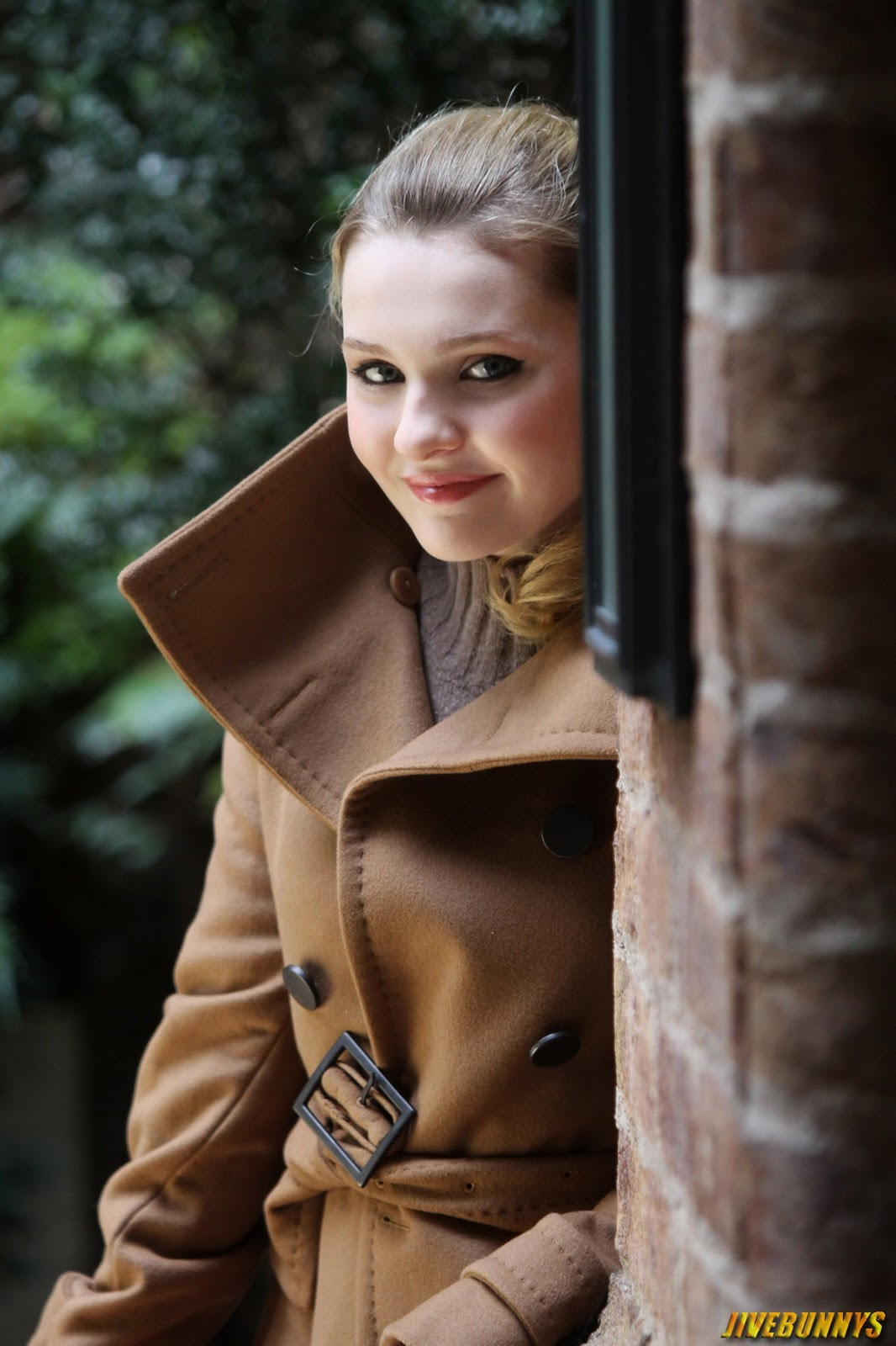 glorious Abigail breslin winter photoshoot