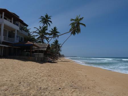 Plaje Sri Lanka: plaja Hikkaduwa