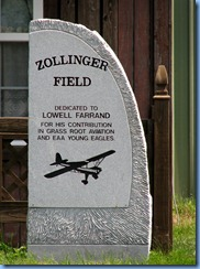 4183 Indiana - Ligonier, IN - Lincoln Highway (Old US-33) - Zollinger Field