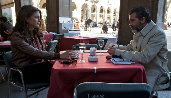 Gina Carano and Antonio Banderas in Haywire