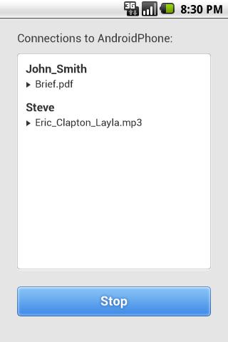 GoodSync Server screenshot #2