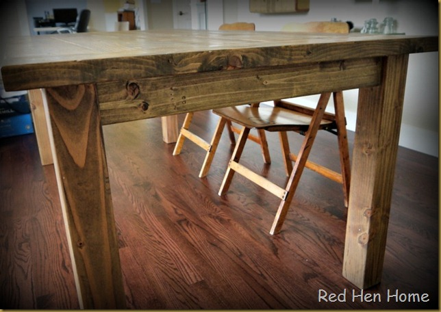 Red Hen Home Farmhouse Table 5