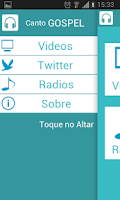 Screenshot of Toque no Altar - Canto Gospel