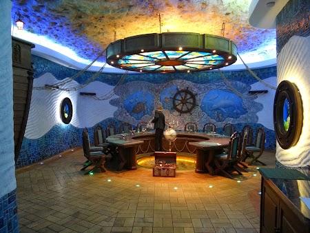 Basarabia - Drumul Vinului:. Sala degustare Cricova