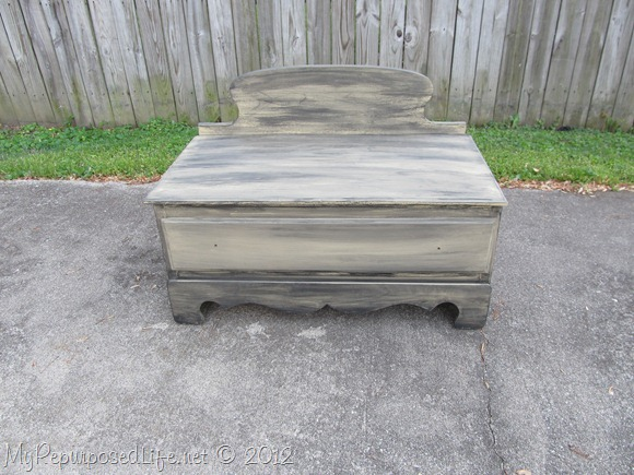 Chest of Drawers into Bench (39)