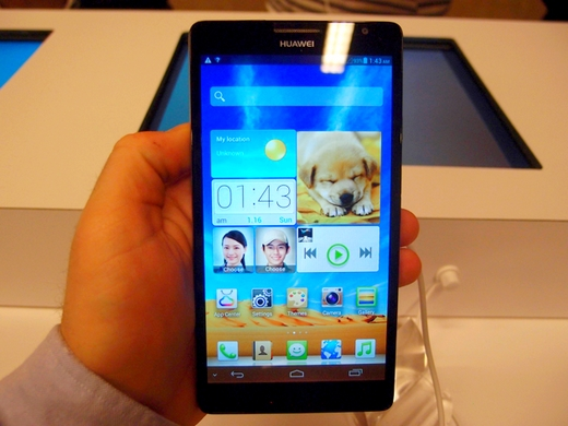 huawei ascend mate 6.1-inch android announced at ces 2013