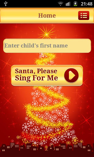 Santa Sings Your Name