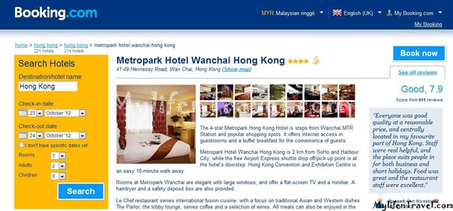How to online booking hotel 06