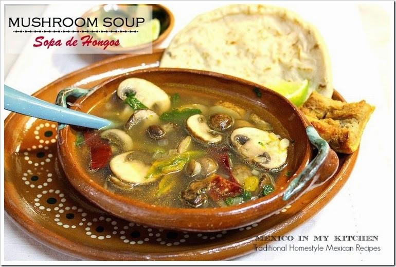 Mushroom Soup | Sopa de Hongos
