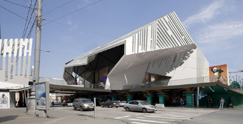Pushkinsky cinema - Za Bor Architects