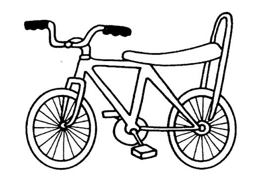 3 Juegos Para Que Los Niños Disfruten De La Bicicleta: DIBUJOS DE BICICLETAS PARA COLOREAR