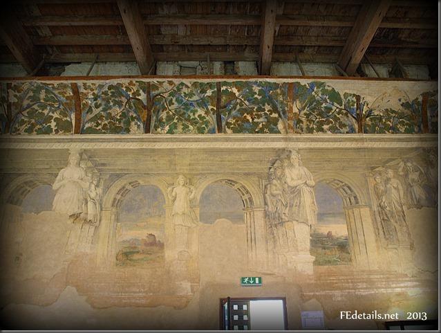 La Sala delle Vigne di Belriguardo, Voghiera,Ferrara,Italia - The Hall of the vineyards of Belriguardo Voghiera, Ferrara, Italy, photo2