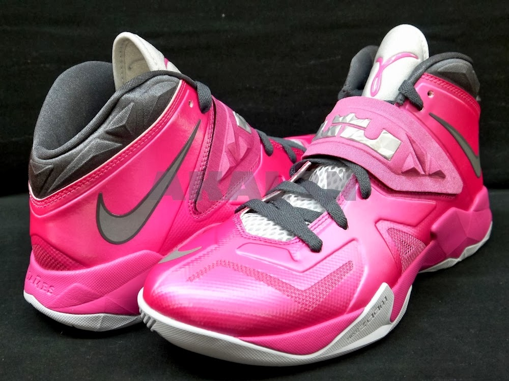 new style e1eb4 a26e3 ... A Look at Nike Zoom Soldier VII 7 Think Pink ...