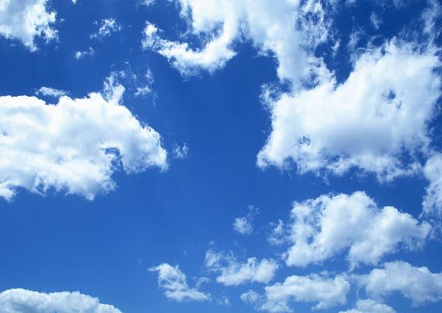 Stock mây xanh và hoàng hôn cho Photoshop