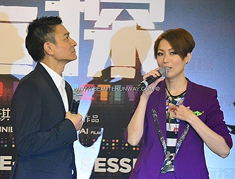 Andy Lau Sammi Cheng Singapore BLIND DETECTIVE MOVIE GALA PREMIERE RWS Cannes Film Festival 2013  Fans meet Yesterday Once More, Love On A Diet Needing You