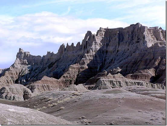 Badlands National Park - Wikimedia Commons - Author Scott Catron