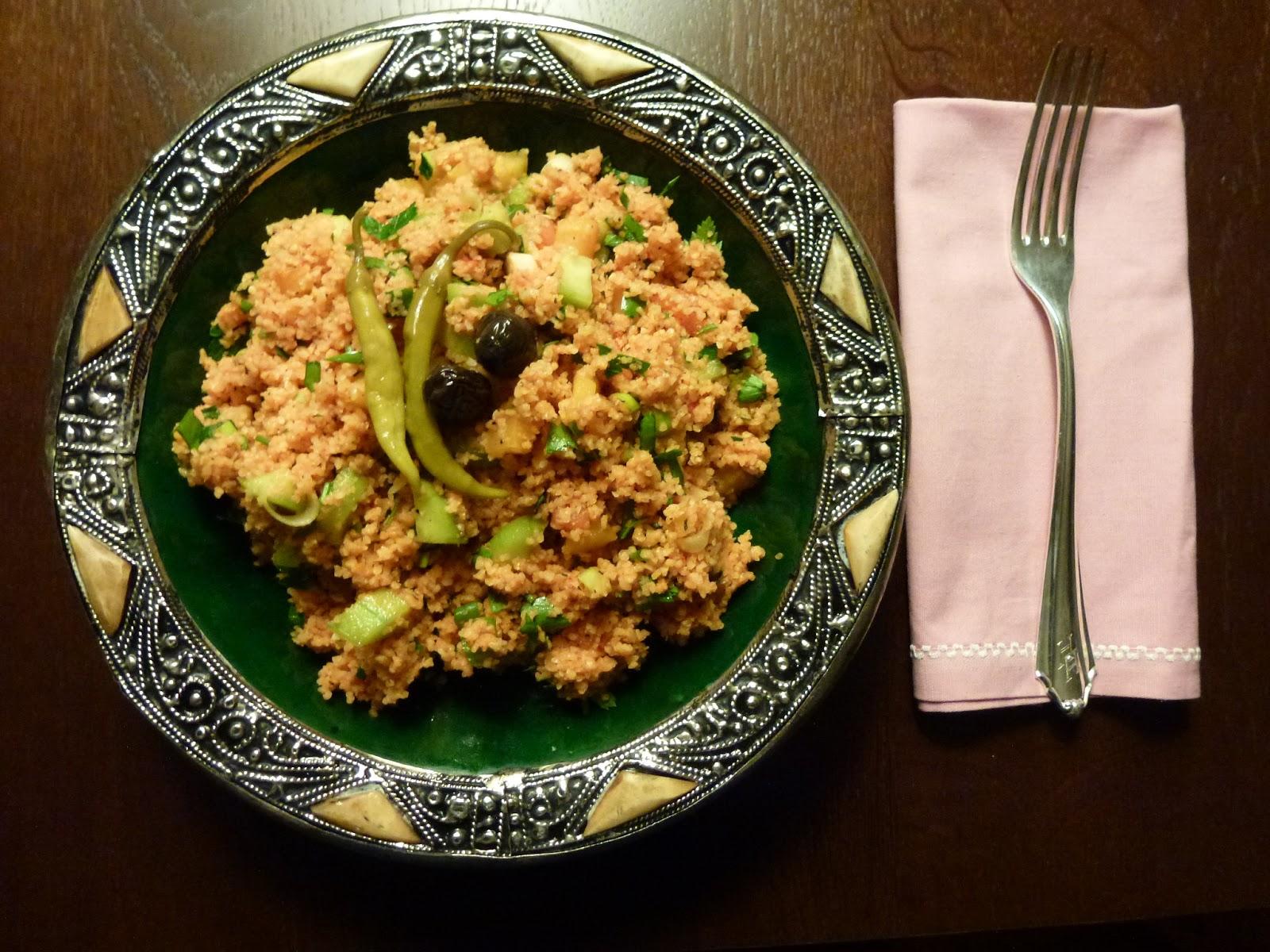 vegan oriental bulgur salat kisir. Black Bedroom Furniture Sets. Home Design Ideas