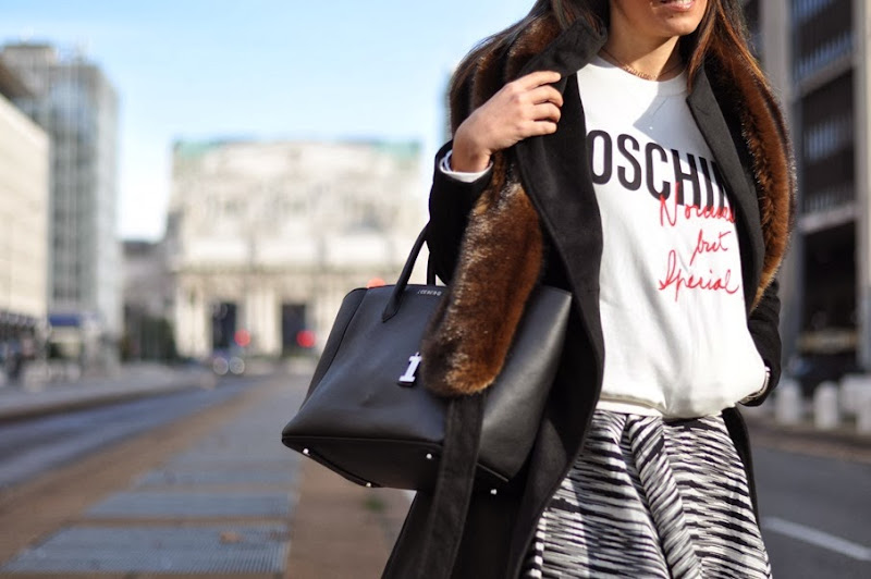 outfit, iceberg giuliana bag, felpa coin moschino, italian fashion bloggers, fashion bloggers, street style, zagufashion, valentina coco, i migliori fashion blogger italiani