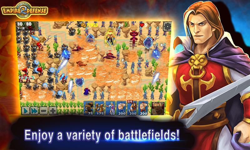 Empire Defense II - screenshot