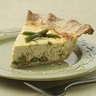 Creamy Asparagus Tart.