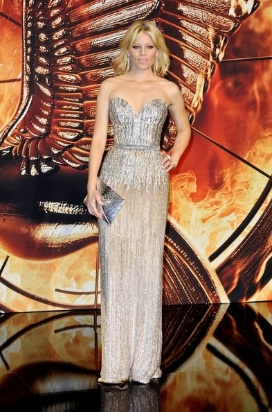 Elizabeth Banks Hunger Games Catching Fire premiere-berlin