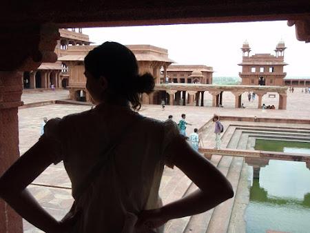 Obiective turistice India: Orasul parasit Fatehpur Sikri