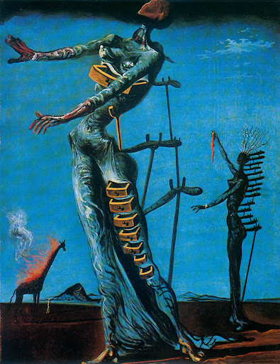 Between Lines And Life Salvador Dali Introducing Art