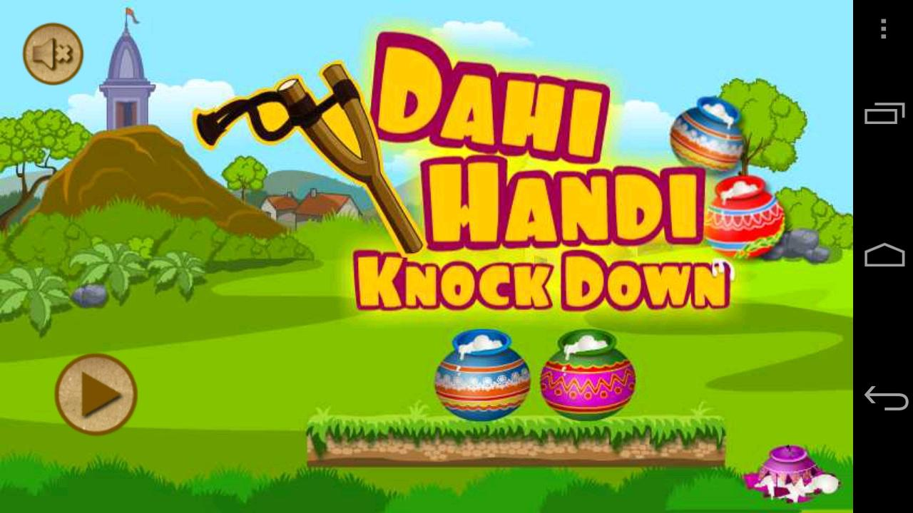 Dahihandi Knock Down Game - screenshot