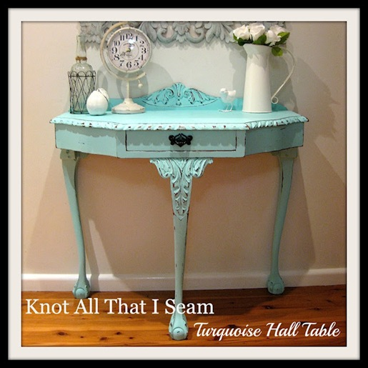 Turquoise Hall Table 1