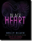 audio book cover of Black Heart by Holly Black read by Jesse Eisenberg