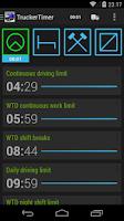 Screenshot of TruckerTimer