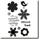 C1540 CTMH Hello Blooms Flair Stamp Set[5]