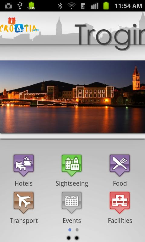 iCroatia - Trogir on your palm - screenshot