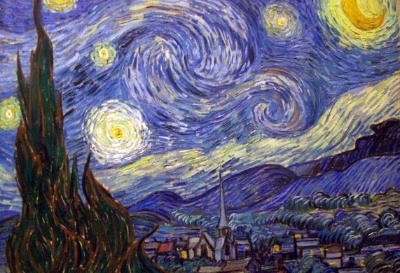 Van Gogh_Starry Night on the Rhone_1888_Musee D'Orsay_Paris_BIG