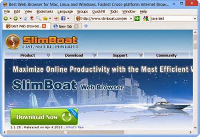 Slim-Boat-Web-Browser