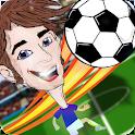 Fußball Köpfen Fußballstars icon