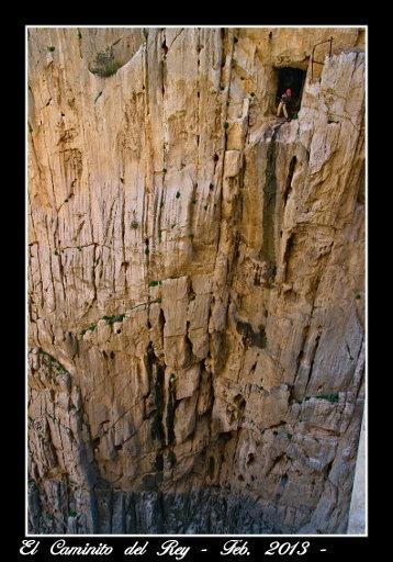 Grandes paredes verticales en el último tramo.