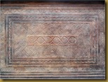 Baki kayu - motif