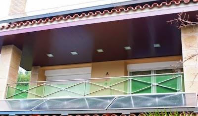 techo de aluminio cerezo elsa