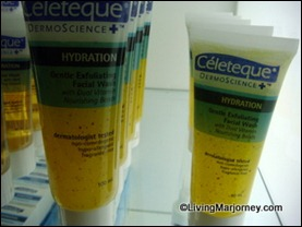 Celeteque Exfoliating Facial Wash