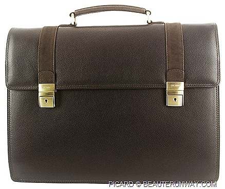 PICARD MEN SPRING SUMMER 2012 WINTER LEATHER briefcase, working bag, totes sling duffle accessories, wallet card holder travel