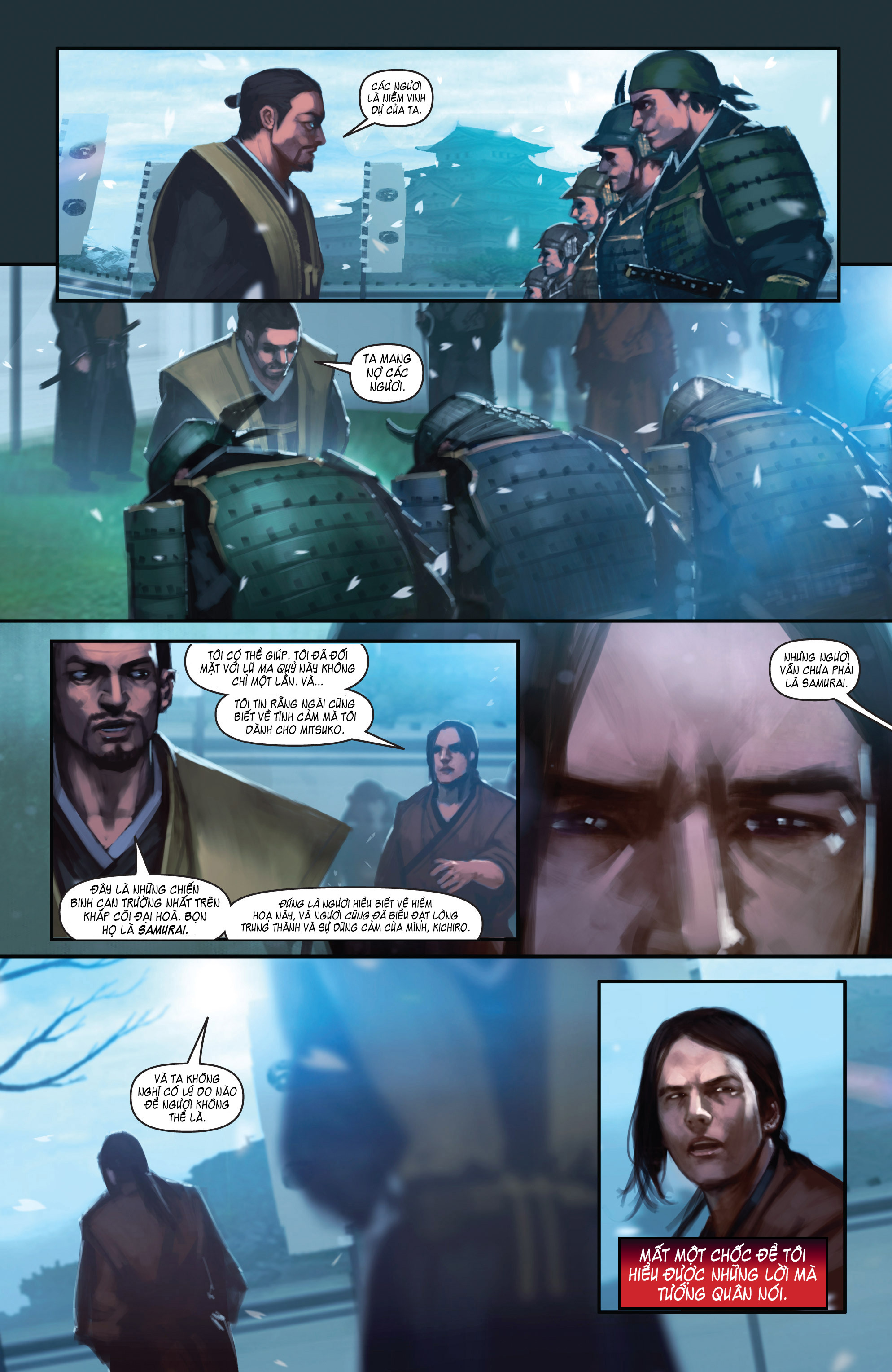 BUSHIDO - THE WAY OF THE WARRIOR chapter 4 trang 13