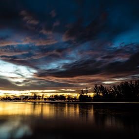 The Last Light of Miri by Michael Tan - Landscapes Sunsets & Sunrises ( miri, sunsets, malaysia, longexposure, sarawak )