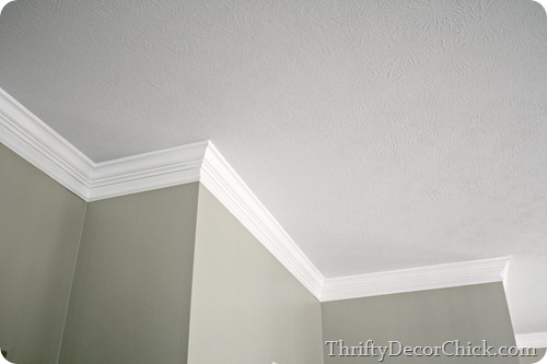 making crown molding look thicker