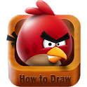 How to Draw the Bird Angry icon